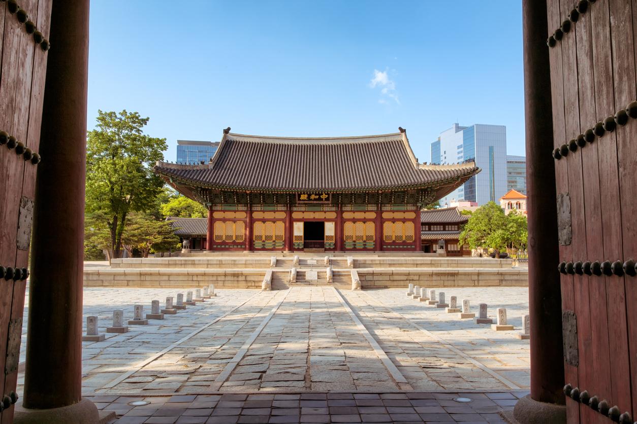 Temple at Gyeongju