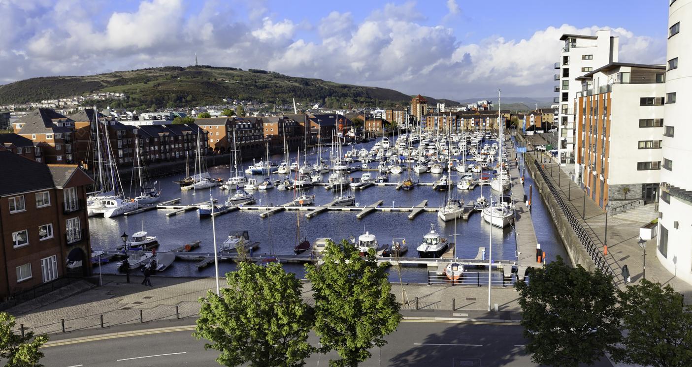 Swansea Marina, Wales