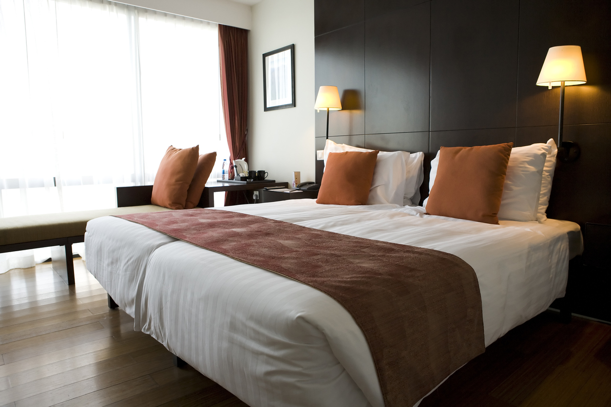 Hotel room in Amsterdam