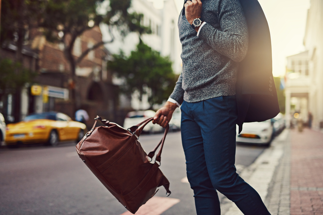 A stylish bag as accessory
