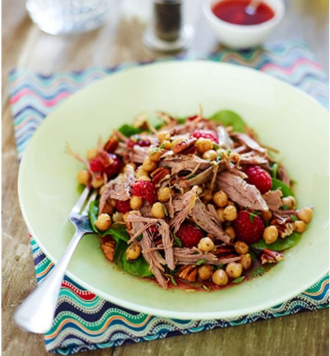 lamb and chickpeas