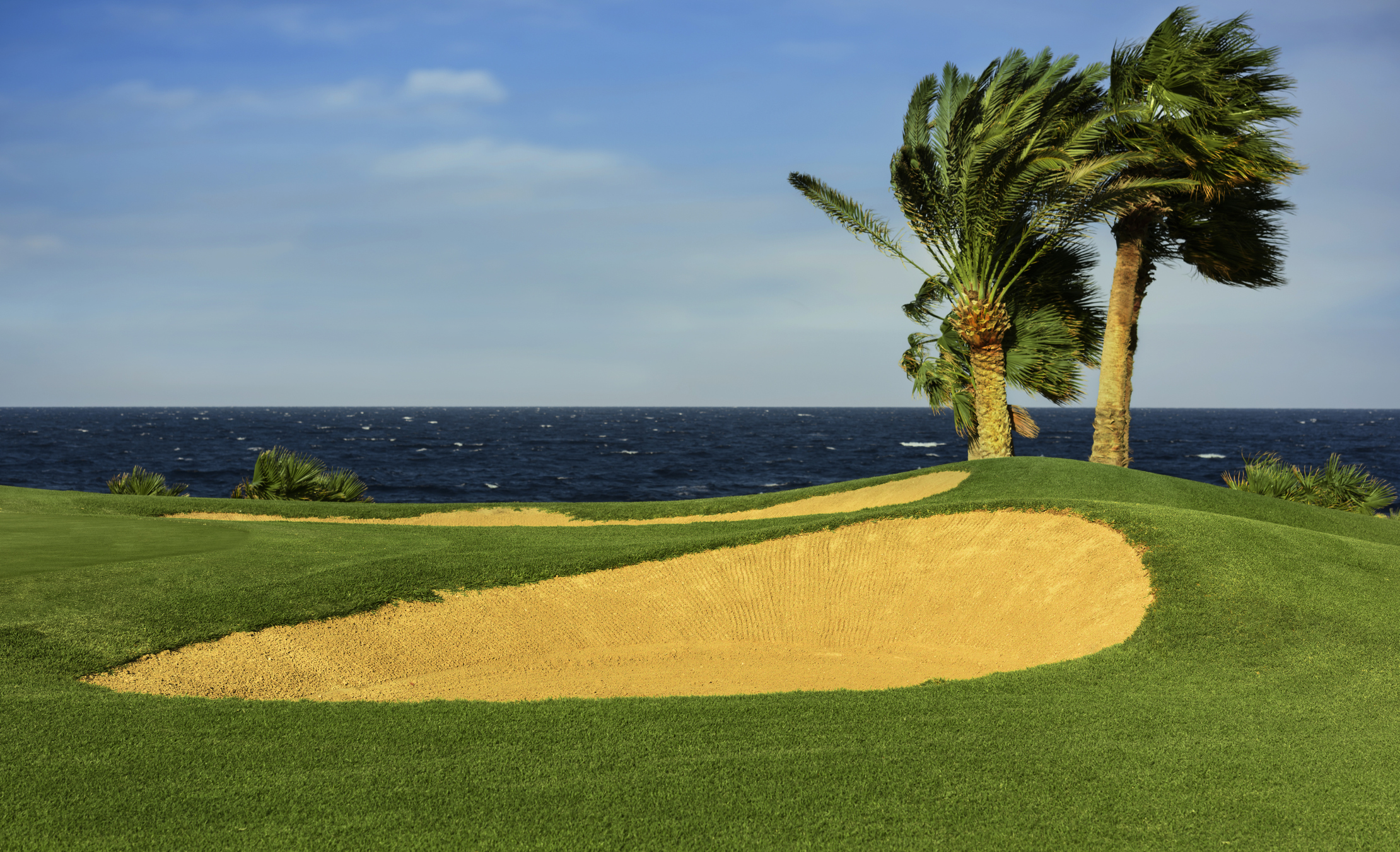 Egypt - luxury golf by the sea