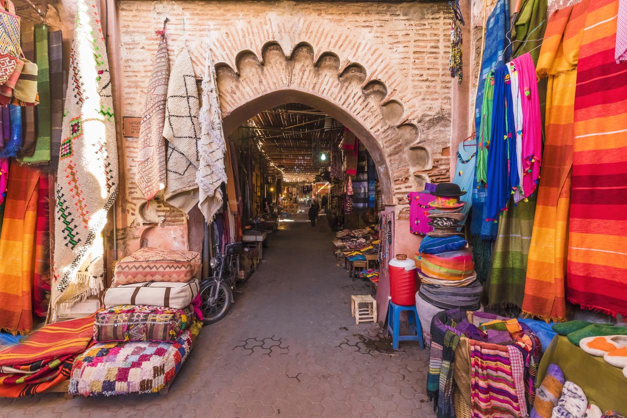 Marrakesh, souk