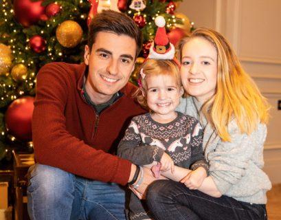 Lily family Christmas