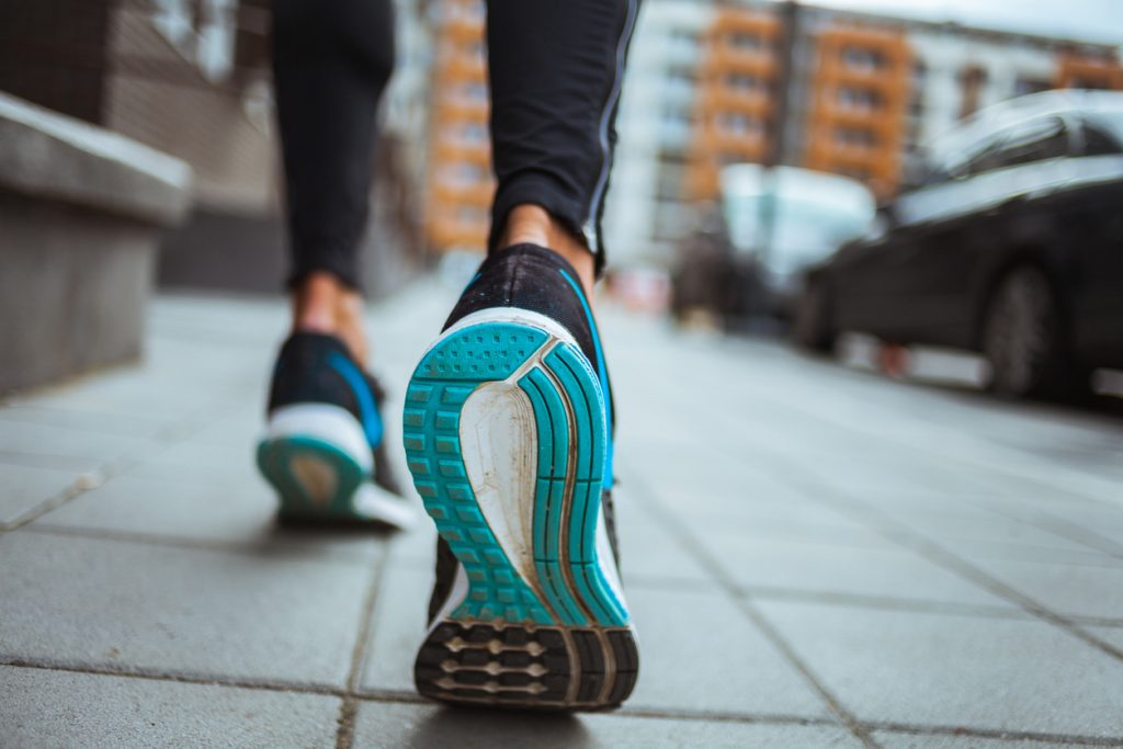 Good walking footwear - exercise for all ages