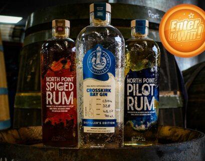 Win a North Point Distillery triple bottle bundle