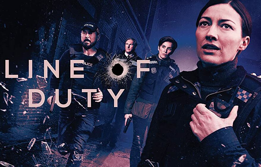 Line of Duty Complete Series One To Six bumper Blu-ray box
