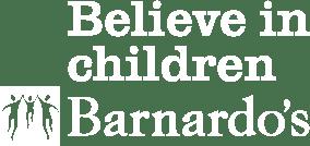 Barnardos logo white
